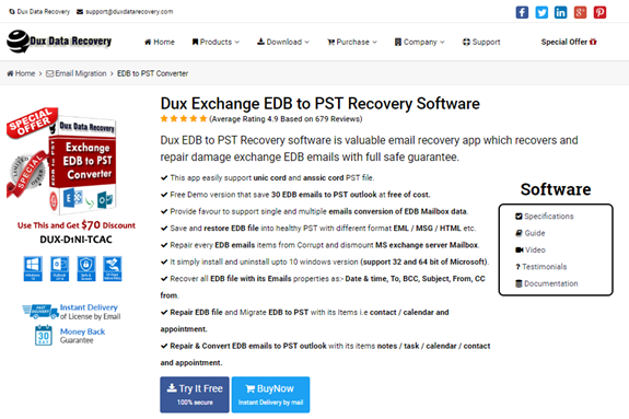 How To Install Exchange Server Recovery Tool - Exchange