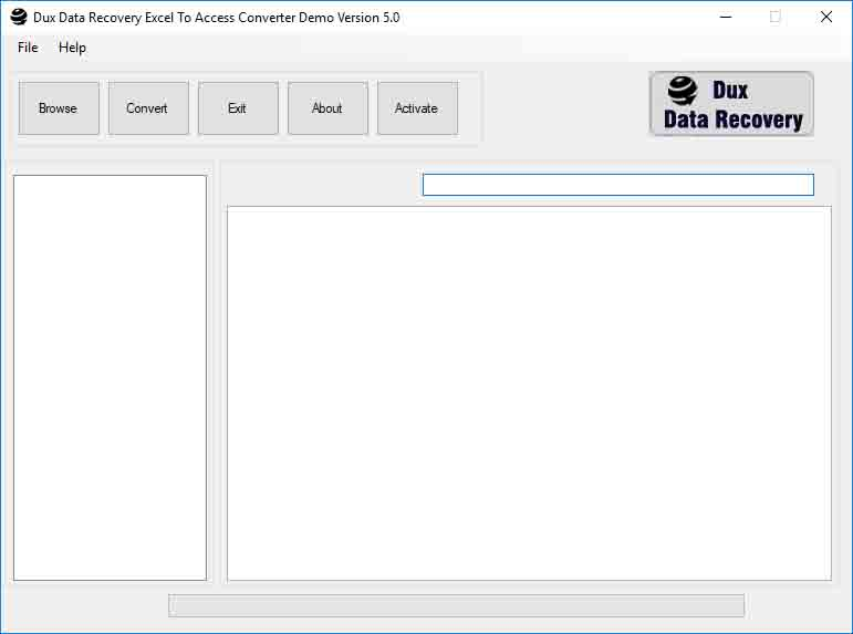Windows 7 Excel to Access Converter 5.0 full